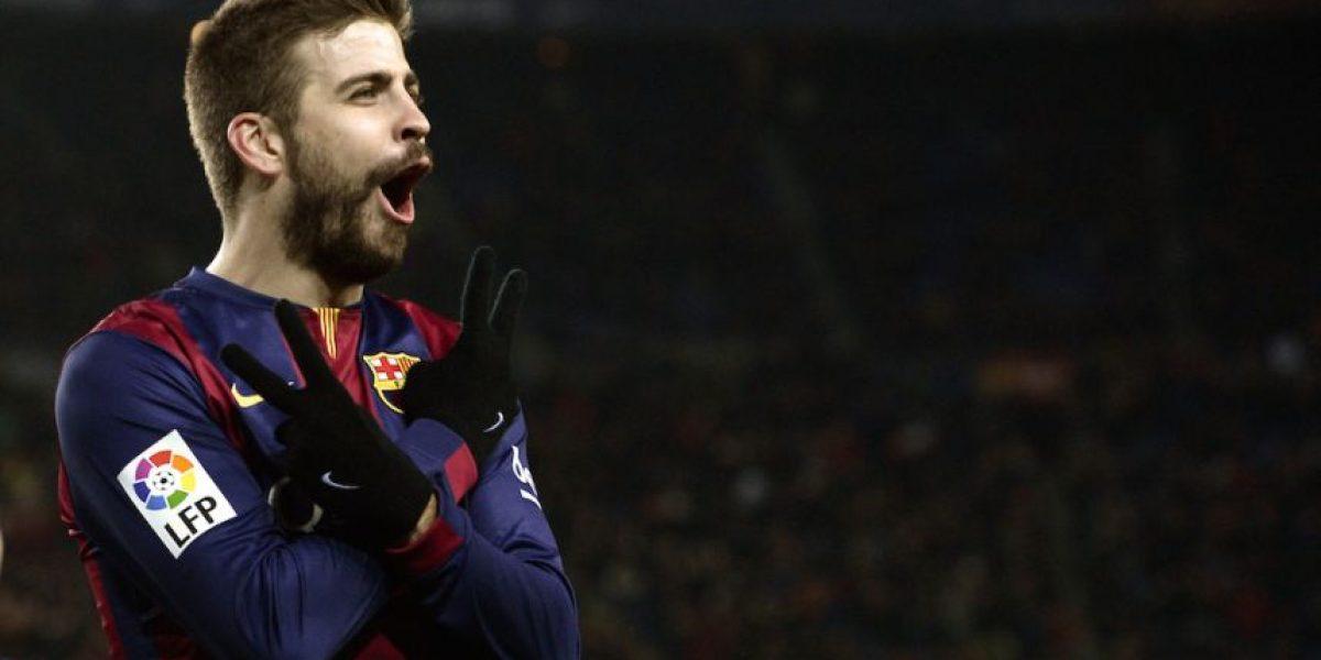 FOTOS: Gerard Piqué festejó su gol en honor a su segundo hijo con Shakira