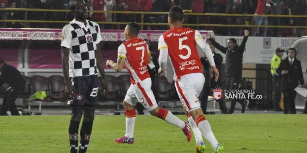 Santa Fe le ganó al Chicó y mantiene el invicto en liga