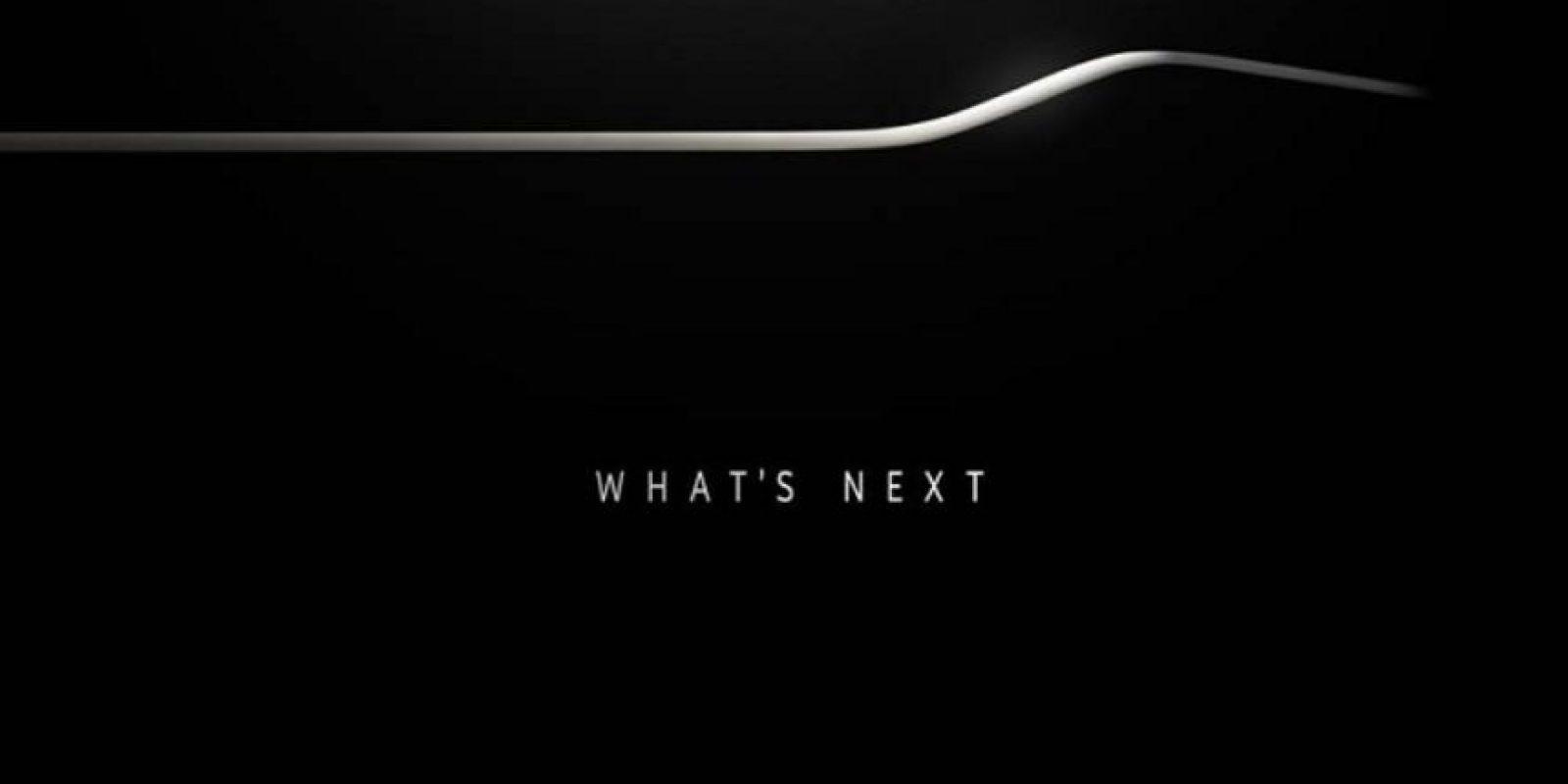 La invitación a la presentación del Samsung Galaxy S6. Foto:Samsung