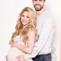 Shakira y Piqué mientras esperaban a Sasha. Foto:http://www.worldbabyshower.org/es