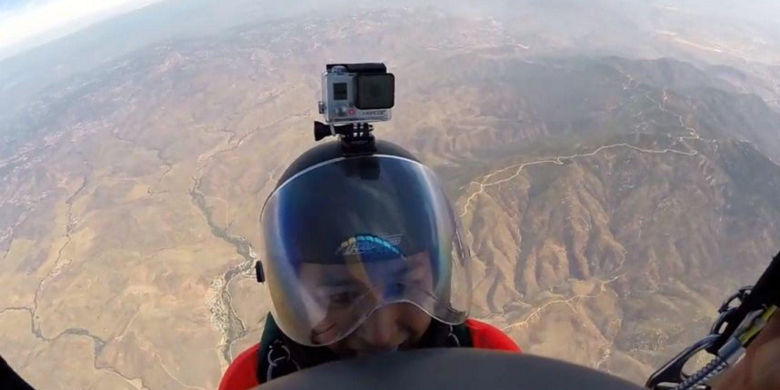 Paracaidismo Foto:GoPro