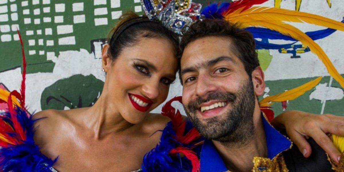 Actores y presentadores se tomaron la Batalla de las flores en Barranquilla