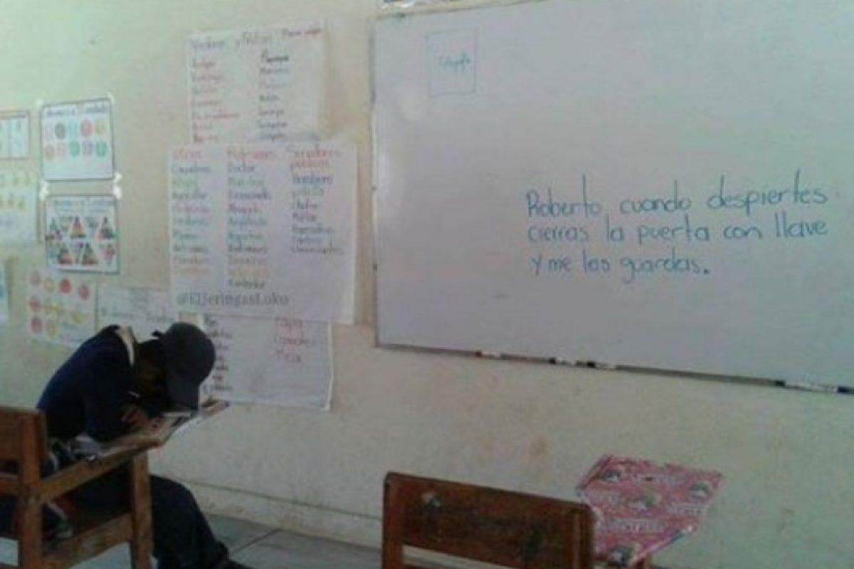 7. Falta el respeto a sus alumnos Foto:Tumblr.com/tagged-maestros