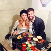 Shakira y Piqué celebraron días antes Foto:Instagram