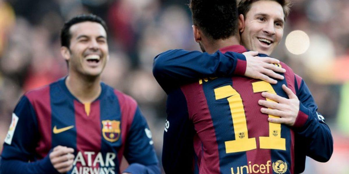 Foto: Dos jugadores del Barcelona se fueron de fiesta tras la victoria