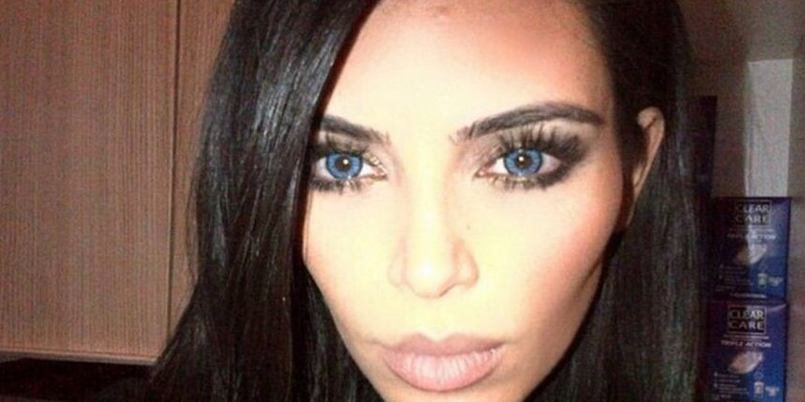 Y así luce la socialité Foto:Instagram Kim Kardashian