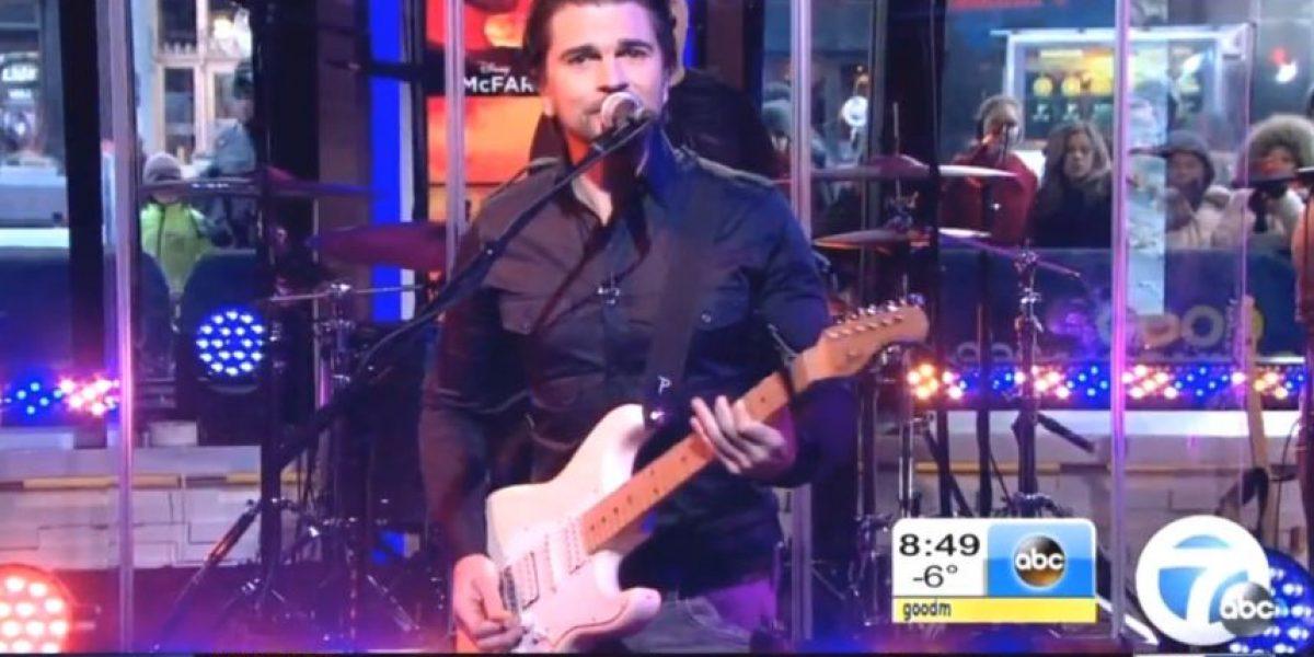 Video: Así estuvo el show de Juanes hoy en Good Morning América