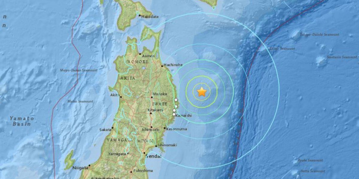 Sismo de 6.8 estremece Japón
