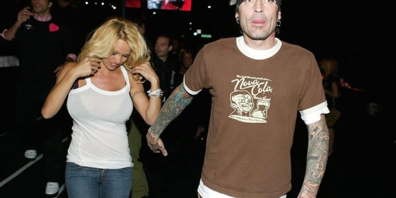 Pamela Anderson y Tommy Lee Foto:Getty Images
