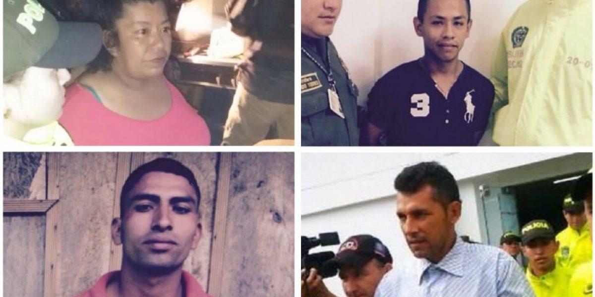 Los rostros de la masacre de Caquetá: ellos son los sindicados