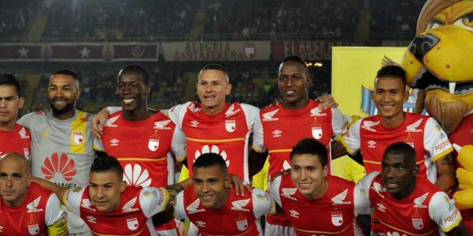 Santa Fe es el primer equipo que enfrentará Atlas en la Copa Libertadores 2015 Foto:Twitter