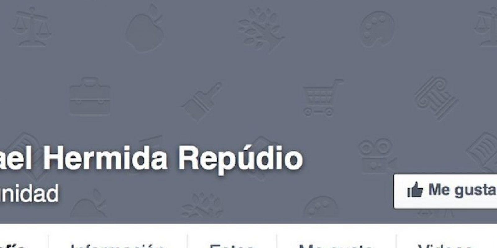 Ya se crearon dos comunidades en repudio a Hermida. Foto:Facebook