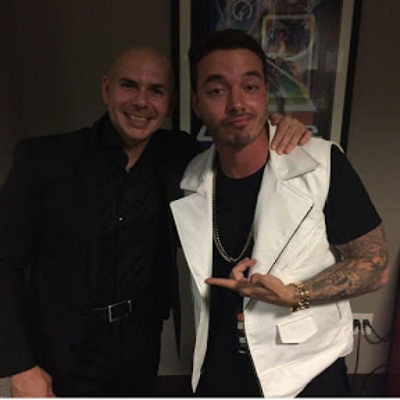 Pitbull y J Balvin