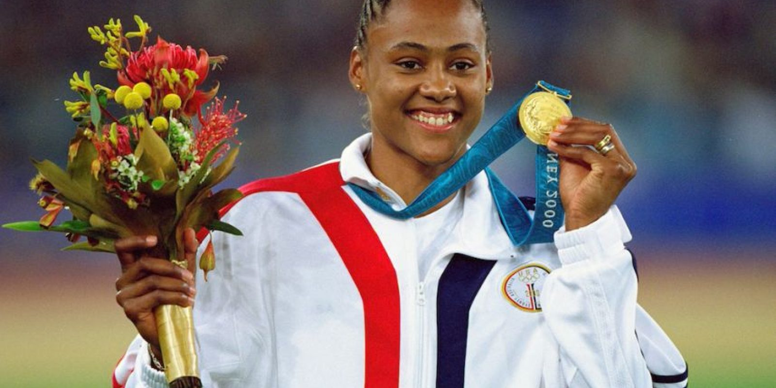 Marion Jones, exatleta estadounidense. Foto: Getty Images