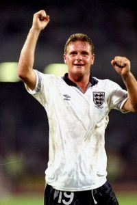 Paul Gascoigne, exfutbolista inglés. Foto: Getty Images