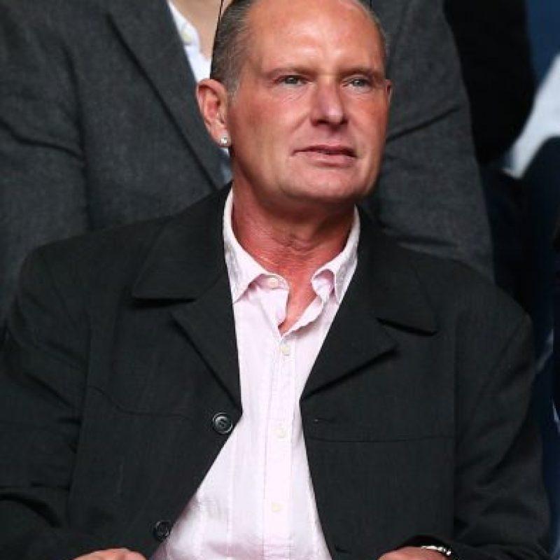 Durante su época como profesional, Gascoigne tuvo diversos problemas por consumo de drogas y alcohol. Foto:Getty Images
