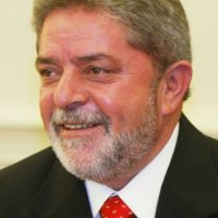 2003: 1 de enero, Luiz Inácio Lula da Silva asume la presidencia de Brasil Foto:Getty Images