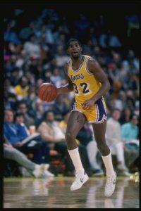 7 de noviembre – Magic Johnson anuncia que tiene SIDA y se retira de la NBA Foto:Getty Images