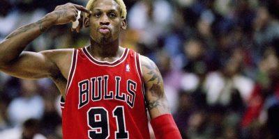 Dennis Rodman, exbasquetbolista estadounidense. Foto:Getty Images