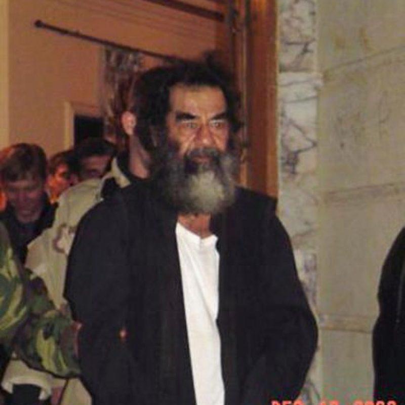 13 de diciembre: es capturado Saddam Hussein Foto:Getty Images