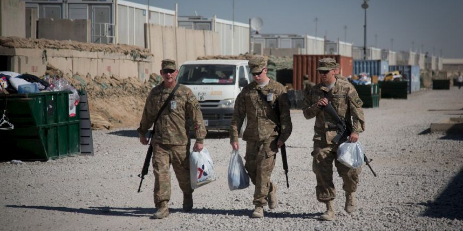 Miles de soldados también han muerto. Foto:Getty Images