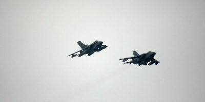 Estados Unidos y Reino Unido han realizado campañas de bombardeos aéreos. Foto:Getty Images
