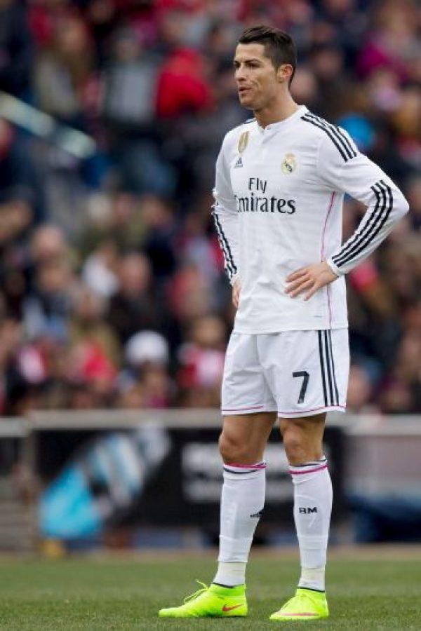 El tridente merengue: Cristiano Ronaldo Foto:Getty
