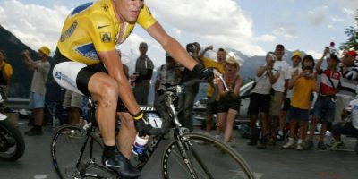Lance Armstrong, exciclista estadounidense. Foto:Getty Images