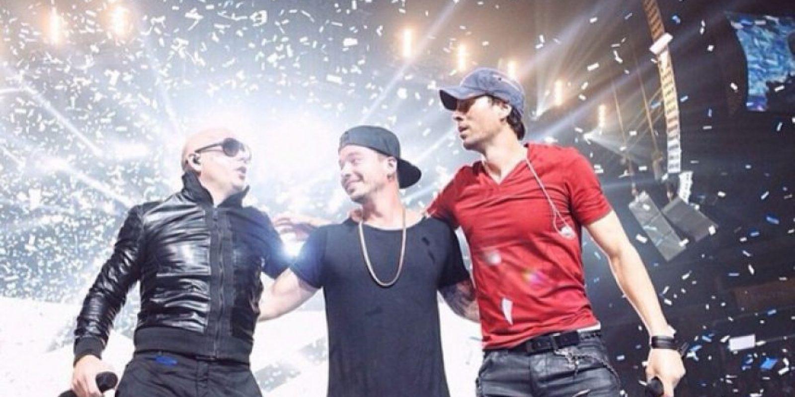 Pitbull, J Balvin y Enrique Iglesias