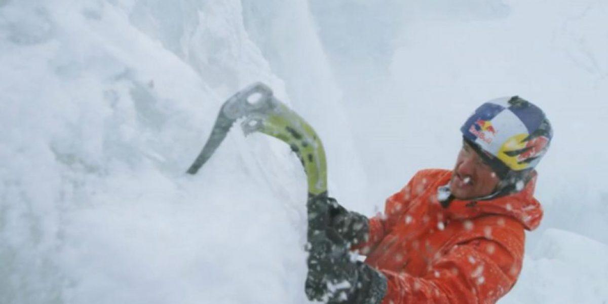 Entrevista: Will Gadd, deporte extremo bajo cero en las cataratas