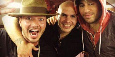 J Balvin, Pitbull y Enrique Iglesias