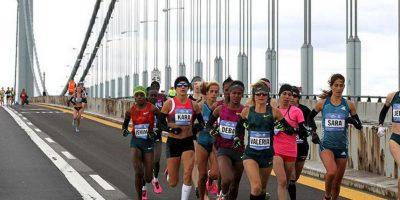 El Maratón de Nueva York Foto:Tcsnymarathon