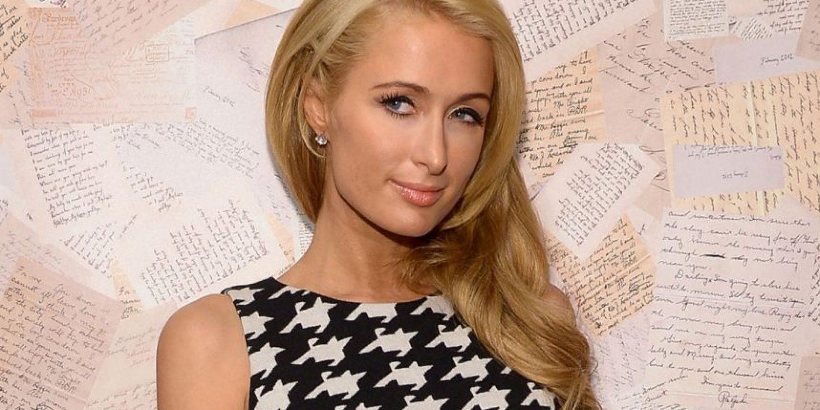 Paris Hilton también la perdió en la adolescencia. Foto:Getty Images