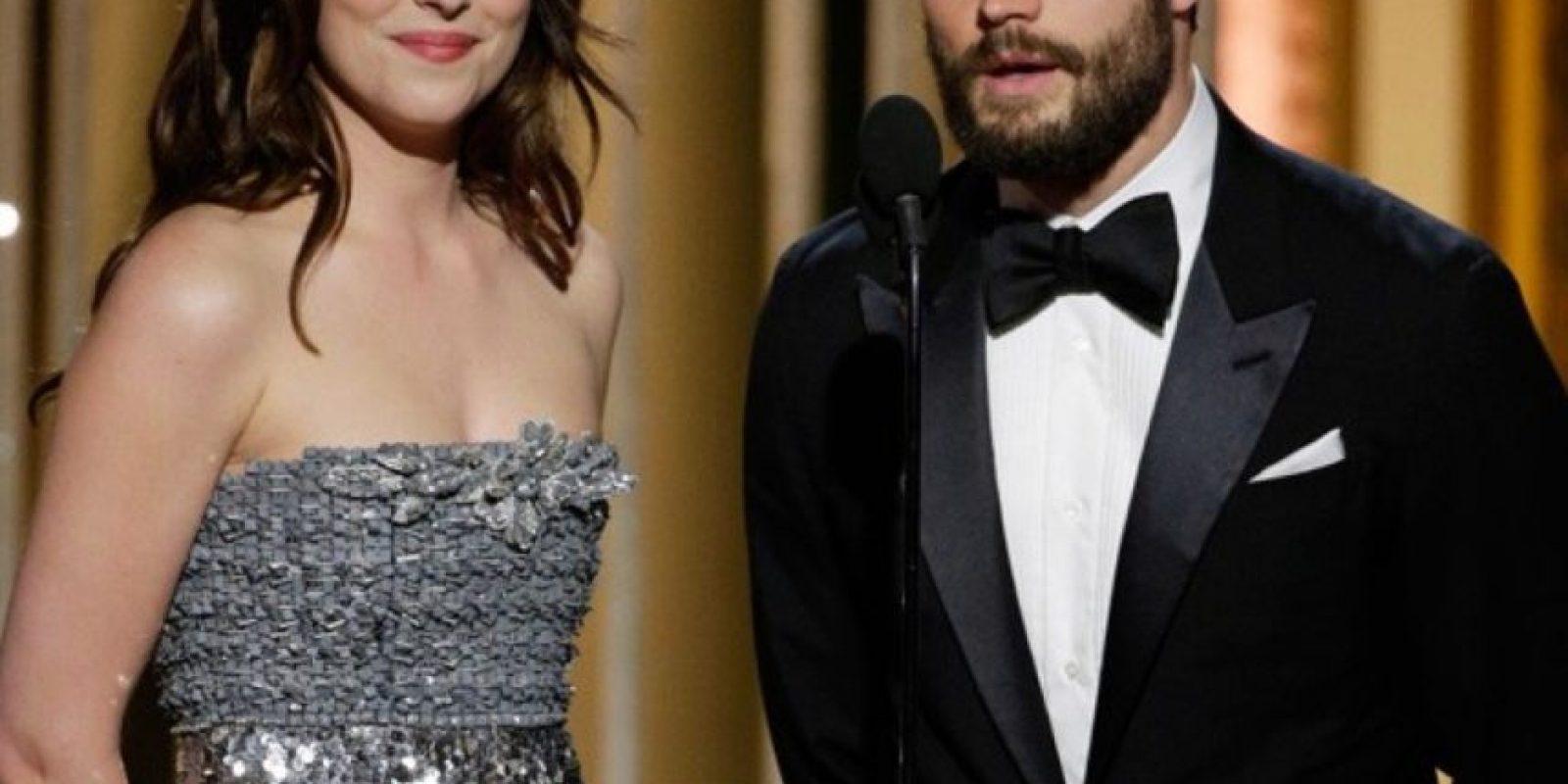 Y en los premios Globos de Oro, su aparición dejó al aire muchos comentarios. Foto:Getty Images