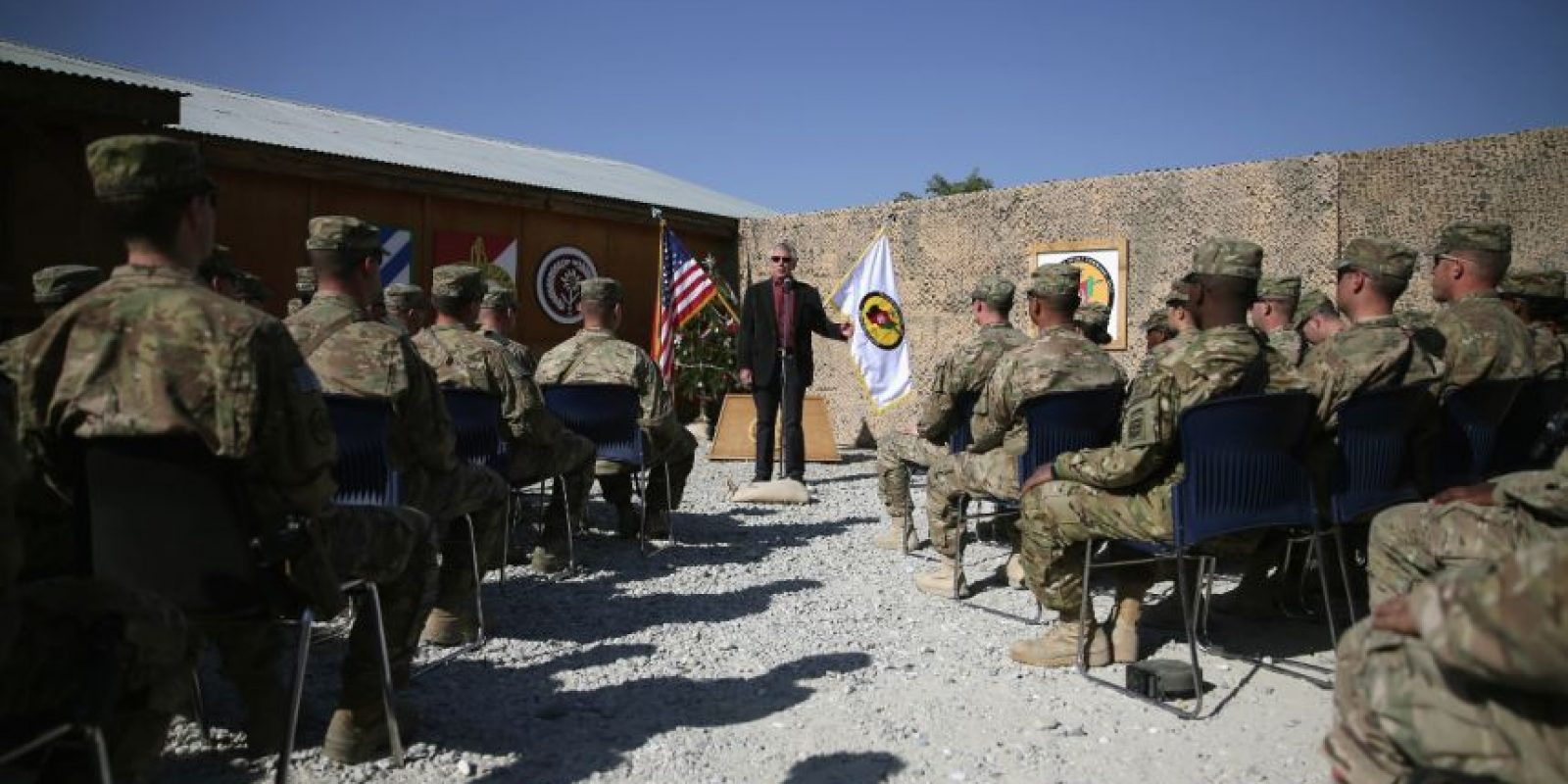Estados Unidos mantendrá más de 10 mil 800 soldados hasta 2024. Foto:Getty Images