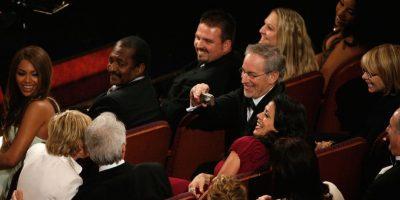 Ellen DeGeneres, Steven Spielberg y Clint Eastwood Foto:Getty Images