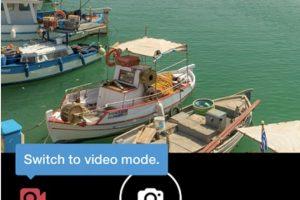 Para grabar video deben mantener pulsado el video de grabación. Pueden grabar uno o más clips. Foto:Twitter