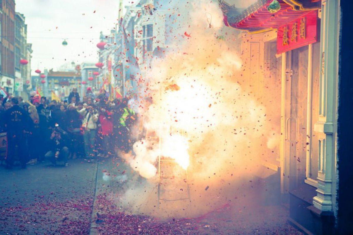 El año nuevo lunar, se celebra con pólvora y banquetes Foto:FLICKR DE CRISTOPHER A DOMINIC