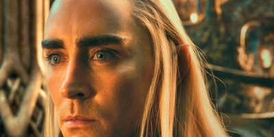 "Thranduil, el padre de Legolas en ""El Hobbit"", interpretado por Lee Pace. Foto: New Line Cinema"