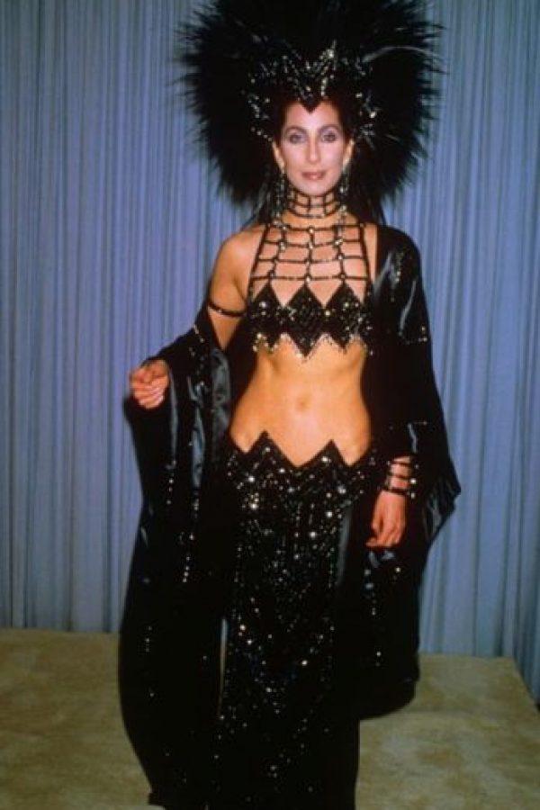 Cher, en los años 80, recordando al público por qué el Carnaval de Río Foto:Getty Images