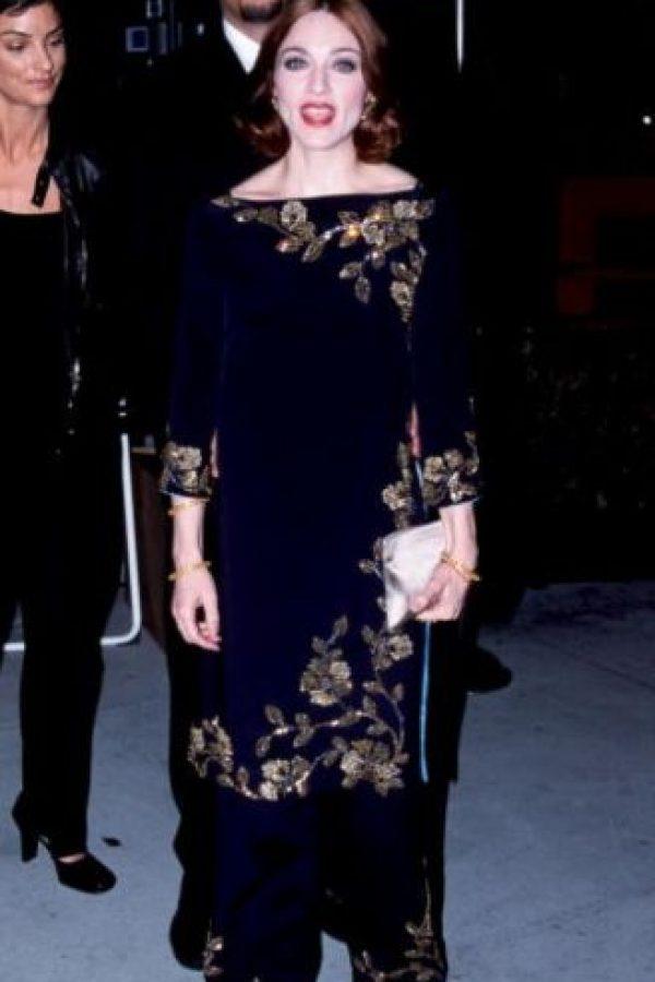 Madonna quería copiar a una anciana aristocrática de los años 30 y no lo logró. Foto:Getty Images
