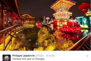 El calendario chino se basa en los crecientes de la luna, a diferencia de Occidente donde nos guiamos por el calendario gregoriano Foto:TWITTER DE @Plej92