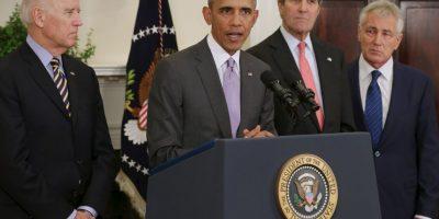 2015: Obama solicita al Congreso que autorice una operación para apoyar estos bombardeos Foto:Getty Images
