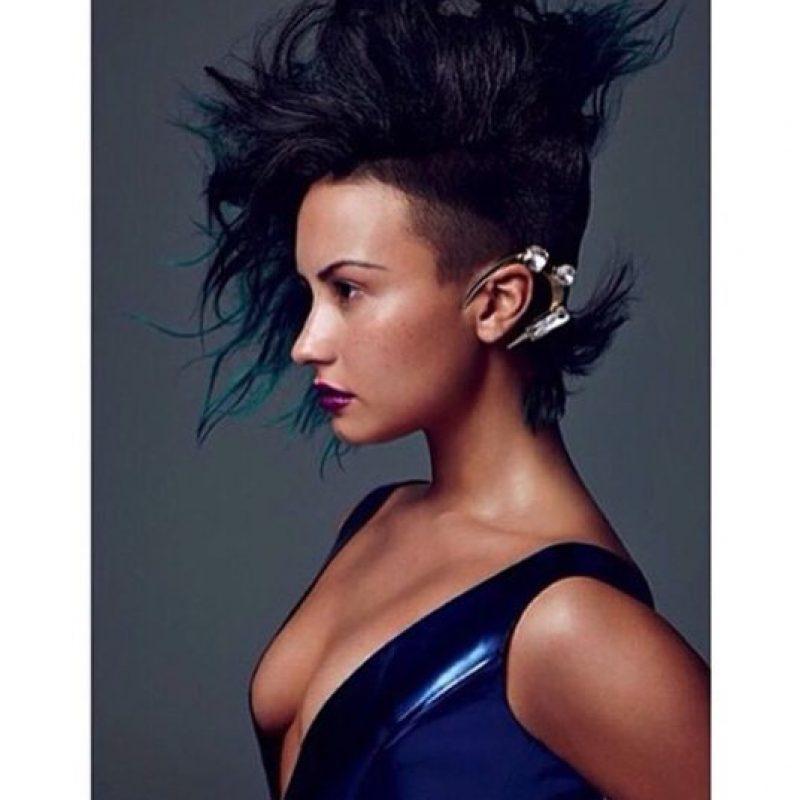 Con Photoshop Foto:Instagram/Demi Lovato