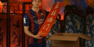 Ivan Rakitić, futbolista croata del Barcelona Foto:Barcelona