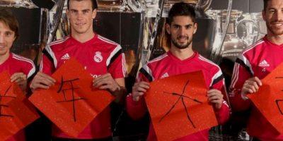 Los futbolista del Real Madrid se unieron a los festejos. Foto:Real Madrid