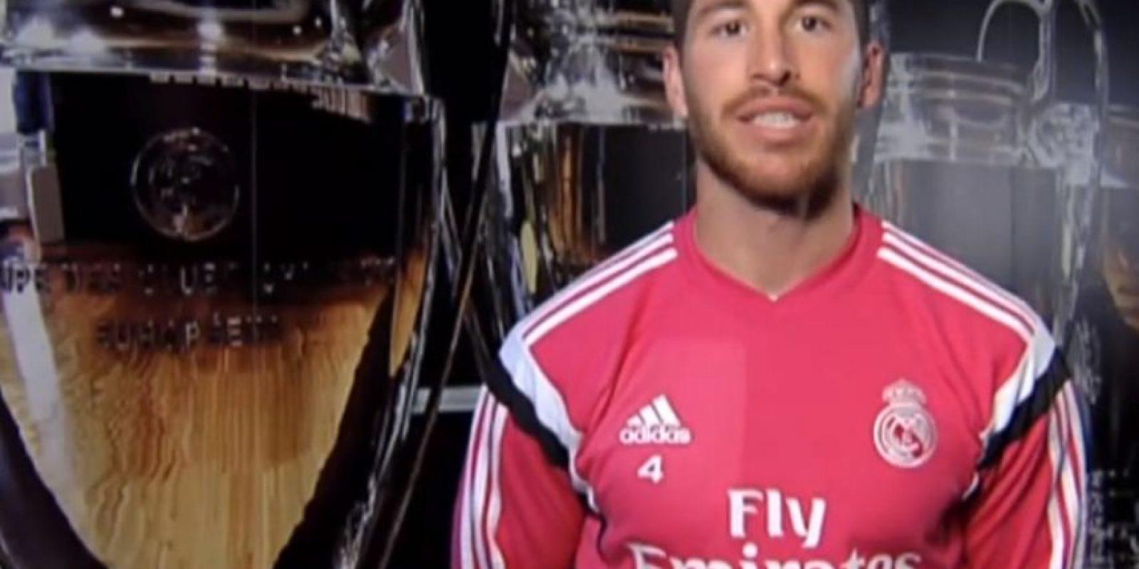 Sergio Ramos, futbolista español del Real Madrid. Foto:Real Madrid