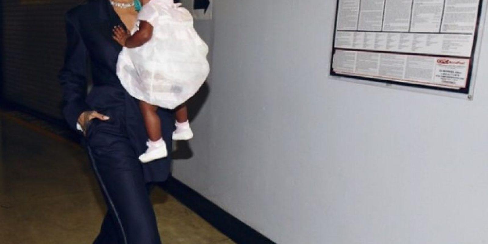 Hasta llevó a su sobrina a los premios Grammy Foto:Instagram/badgalriri