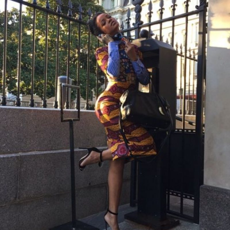 6.- Porque solo ella puede llegar a la Casa Blanca y hacer esto Foto:Instagram/badgalriri