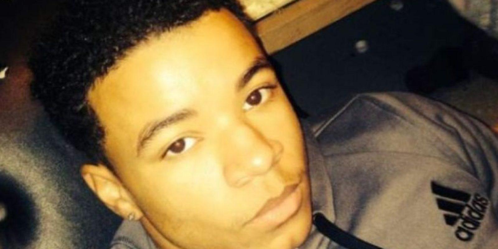 Maxwell Marion Morton, de 16 años de edad, se tomó un selfie junto al cuerpo de su amigo y fue detenido por presunto asesinato. Foto: Pittsburgh Tribune-Review